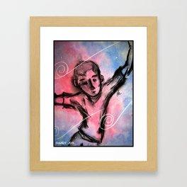 Falling in a Dream Framed Art Print