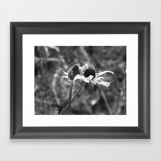 Stygian Stems Framed Art Print