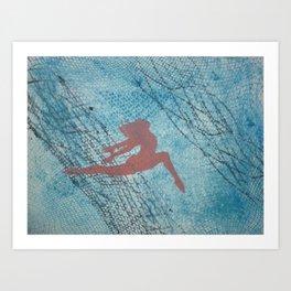 Thrill Art Print