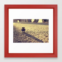 Its Time For You To GO Framed Art Print