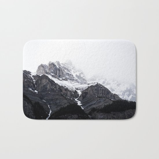 song of the mountains Bath Mat