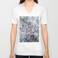 crystal V-neck T-shirts featuring Crystal by Danielle Fedorshik