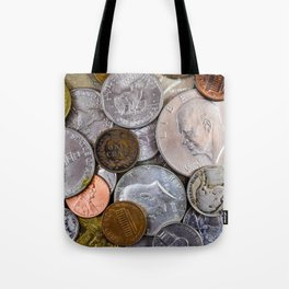 United States - Jumble of Old Coins Tote Bag