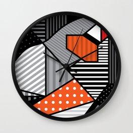 zebra finches Wall Clock