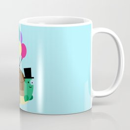 Flying Turtle Coffee Mug