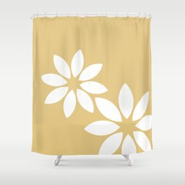 Flora2 Shower Curtain