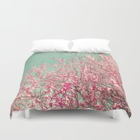 blossom Duvet Covers featuring Blossom by Cassia Beck