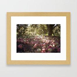Under the Apple Tree Framed Art Print