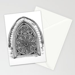 Intricate Architecture Stationery Cards
