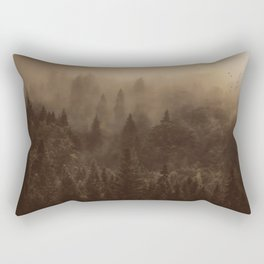 One Hundred Years of Solitude - Tree Forest Mountain Dust #Society6 Rectangular Pillow