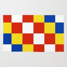 Antwerp flag belgium country region Rug
