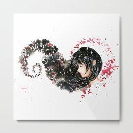 Mia Corvere Fan Art Metal Print