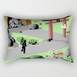 The Last Ninja Scenery Rectangular Pillow