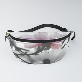 Springtime magnolia painting in nature Fanny Pack