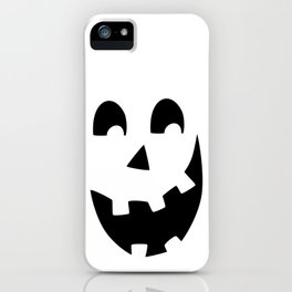 Crazy Jack O'Lantern Face iPhone Case