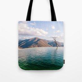 Lake in the Sky Tote Bag