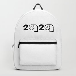2020 Toilet Paper Shortage Meme Backpack