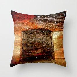 Cheviot Tunnel - Enclaves Throw Pillow