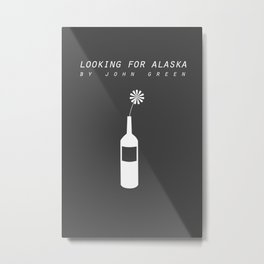 looking for alaska Metal Print