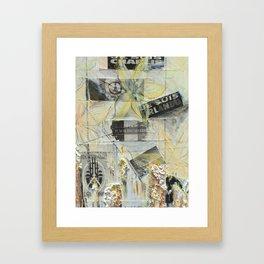 Je Suis Framed Art Print