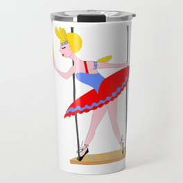 Circus Trapeze Artist Circus Party Travel Mug