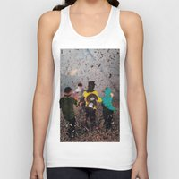 butterfly Tank Tops featuring Butterfly by Lerson