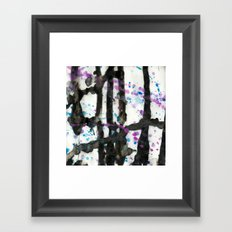 Throwing Colors Framed Art Print