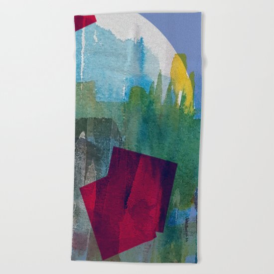 Hole in one 5 Beach Towel