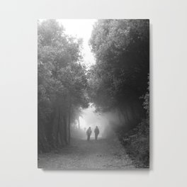 Hacia la niebla Metal Print