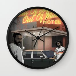 J Cole Wall Clock
