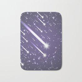 Flying meteors. Ultra violet. Bath Mat
