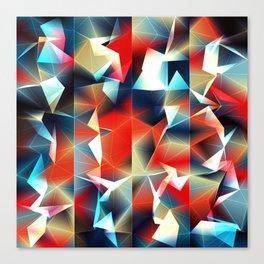Tetrakiss Canvas Print