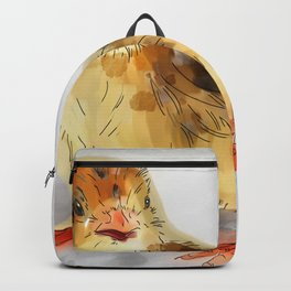 Chick with eggs Backpack