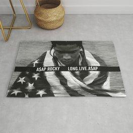 Asap Album Cover Rocky Poster Long Live Rug