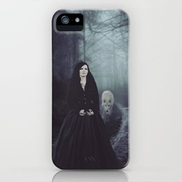 Seven Days To The Wolves Nightwish Inspired Artwork iPhone Case