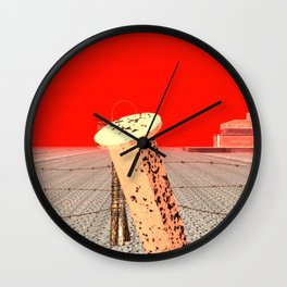 Squared: Clampers Wall Clock