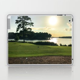 Sunset View from the Course Laptop & iPad Skin