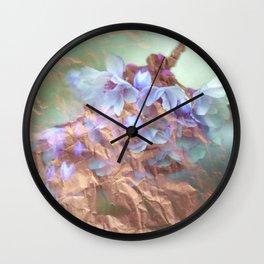 periwrinkle Wall Clock