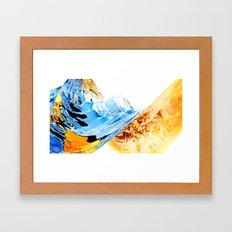 Warm Memory Framed Art Print