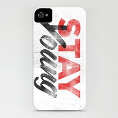 Stay Young iPhone (4, 4s) Slim Case