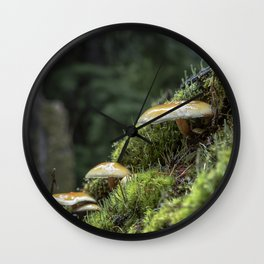 Little Things in a Big Forest Wall Clock