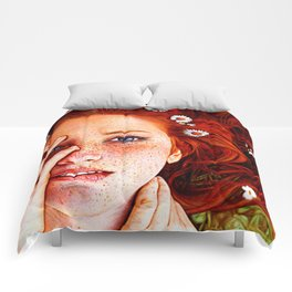 Quintessentially Redhead - Ballpoint Pen Comforters