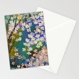 Sakura Oil Painting Stationery Cards