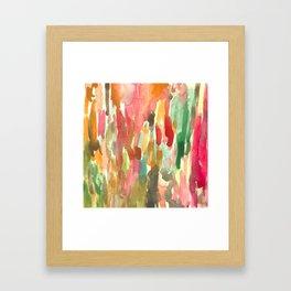 Watercolor Jungle Framed Art Print