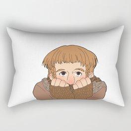 ad-ori-ble Rectangular Pillow