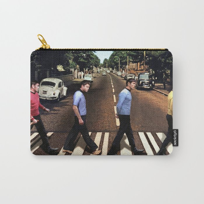 Boldly going on Abbey Road Carry-All Pouch