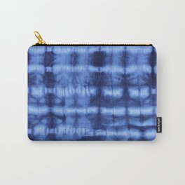 Itajime Shibori Carry-All Pouch