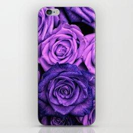 Purple Roses iPhone Skin