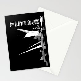 Future is now Stationery Cards