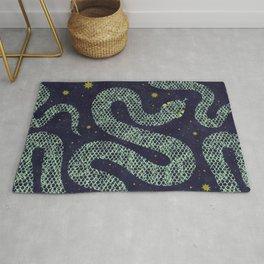 Space Serpent Rug